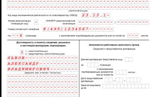 УСН подача декларации в 2017 году