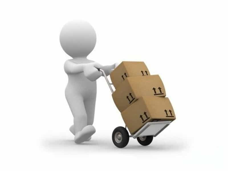 проводки по доставке товара