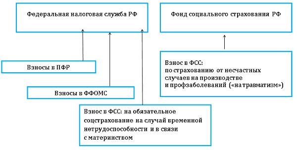 схема уплаты ЕСН в 2017
